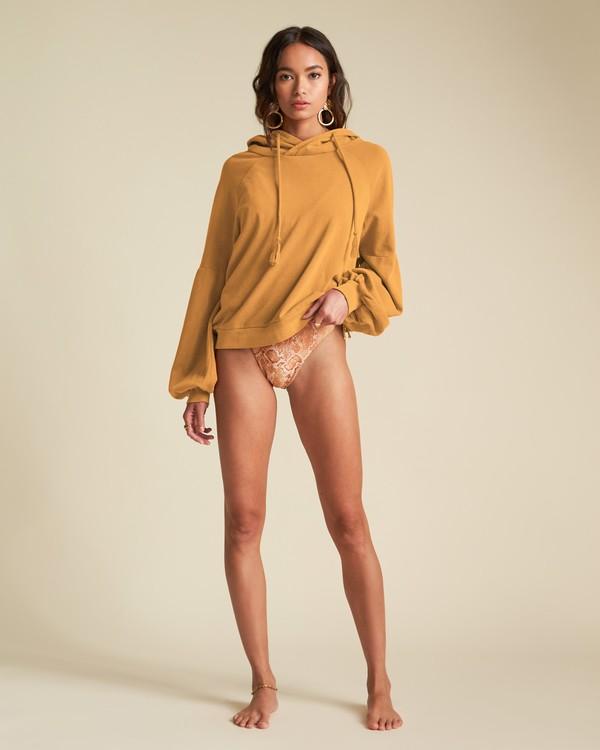 0 Feeling Free - Pullover Hoodie für Damen Gelb S3FL02BIP0 Billabong