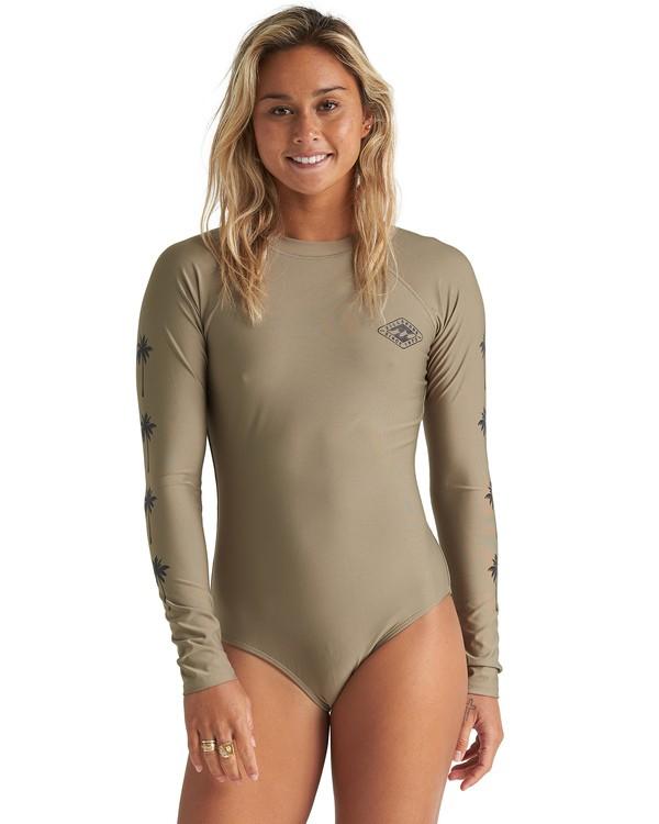 0 Core Mock Neck Bdyst - Surf-Anzug für Damen Grün S3GY03BIP0 Billabong