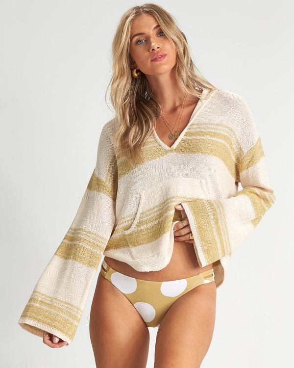 0 Baja Beach - Kapuzenpullover für Damen Grün S3JP01BIP0 Billabong