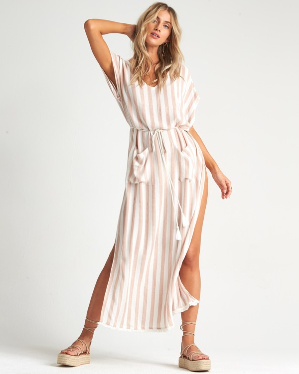 0 Wink Away - Vestido extra largo para Mujer Beige S3OS10BIMU Billabong