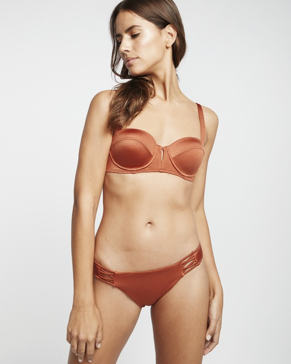 0 S.S Tropic - Braguita de bikini para Mujer Marron S3SB03BIP0 Billabong