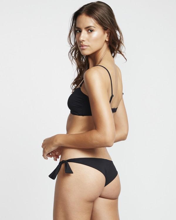 0 S.S Tanga - Braguita de bikini para Mujer Negro S3SB05BIP0 Billabong