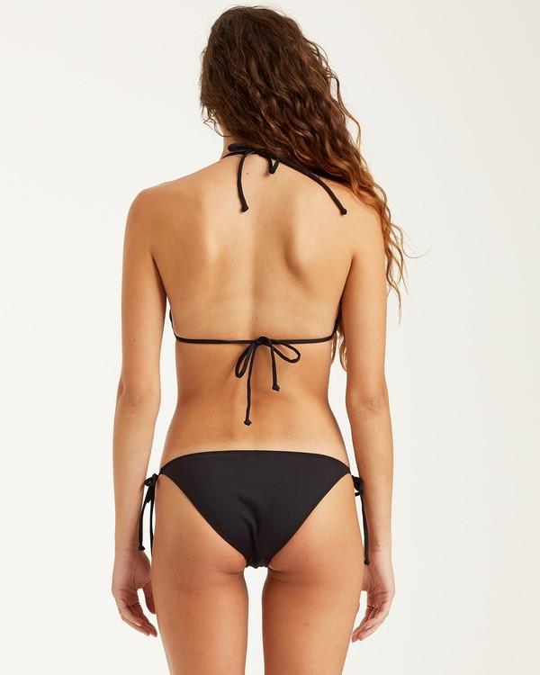 0 S.S Tie Side Tropic - Tie Side Bikini Bottoms for Women Black S3SB06BIP0 Billabong