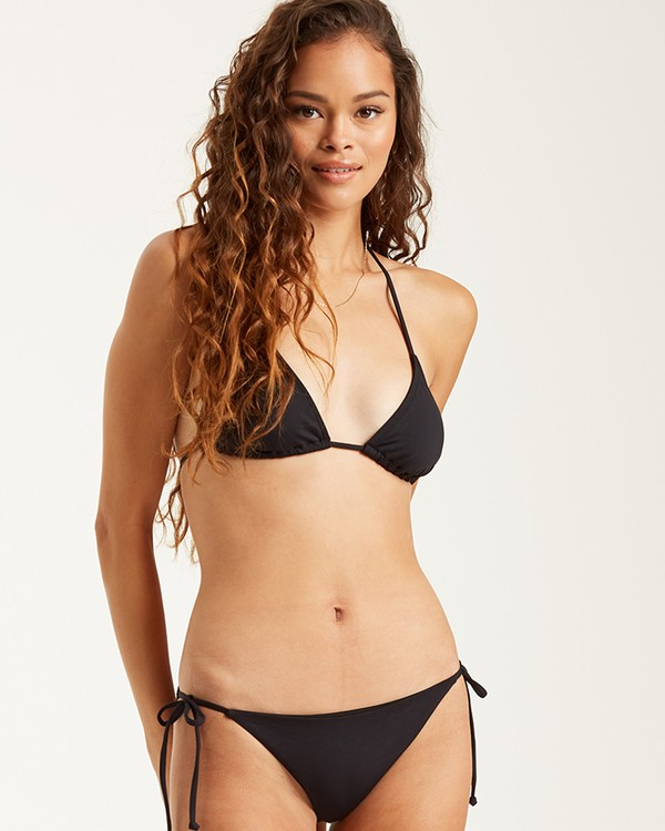 0 S.S Tie Side Tropic - Tie Side Bikini Bottoms for Women Black S3SB06BIP0 Billabong