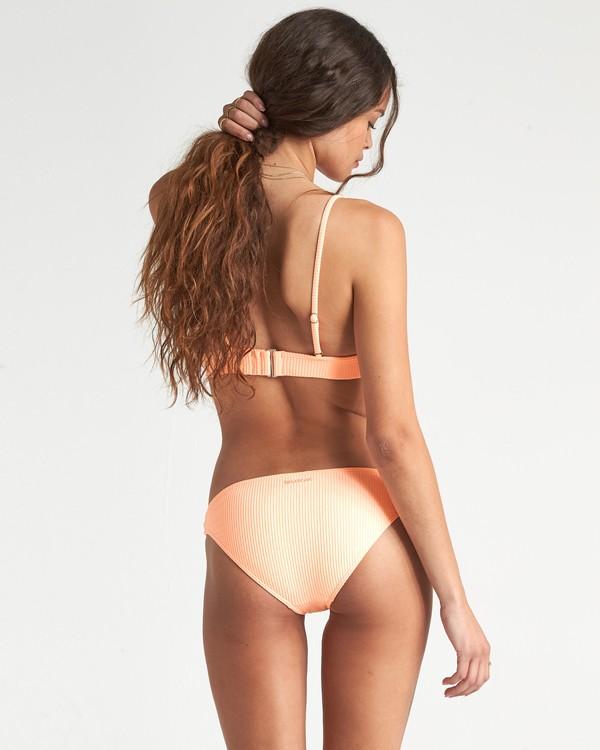 0 Under The Sun Lwrdr - Rib Knit Bikini Bottoms for Women Pink S3SB32BIP0 Billabong