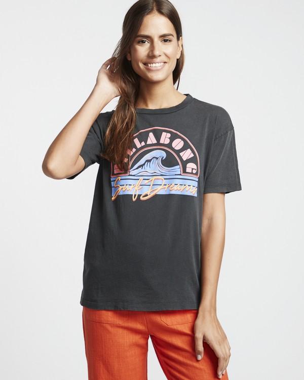 0 Surf Dream - Grafik-T-Shirt für Damen Schwarz S3SS05BIP0 Billabong