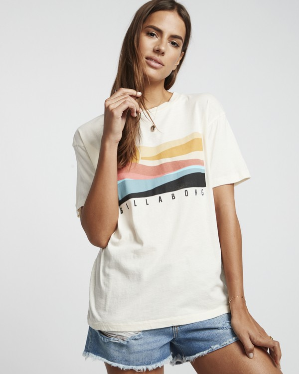 0 Pipe Dream - Grafik-T-Shirt für Damen Weiss S3SS07BIP0 Billabong