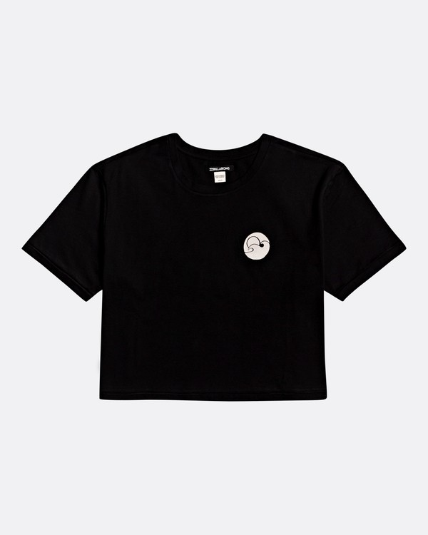 0 Waves All Day - Camiseta para Mujer Negro S3SS18BIP0 Billabong