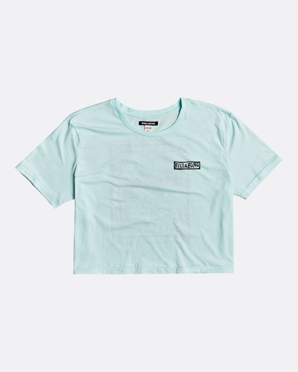 0 Know The Feeling - T-Shirt for Women Blue S3SS20BIP0 Billabong