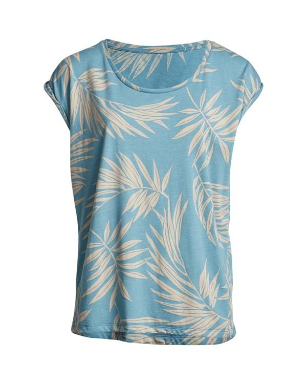0 Palm - Camiseta para Mujer Multicolor S3SS22BIP0 Billabong