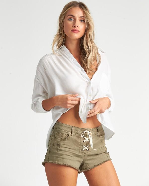 0 Sweet Moves - Long Sleeve Shirt for Women White S3TP23BIP0 Billabong