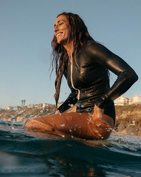 0 2mm Salty Dayz - Traje de surf corto de manga larga para Mujer Multicolor S42G53BIP0 Billabong