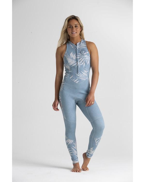 0 2mm Salty - Traje de surf largo sin mangas para Mujer Azul S42G54BIP0 Billabong