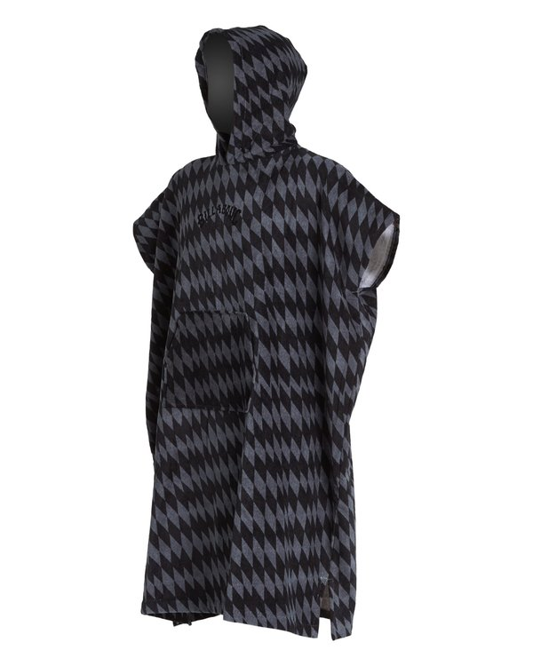 0 Hoodie - Toalla con capucha para cambiarse para Niño Gris S4BR70BIP0 Billabong