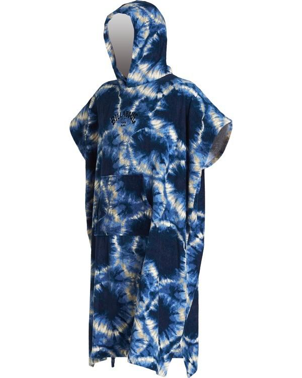 0 Hoodie - Toalla con capucha para cambiarse para Niño Azul S4BR70BIP0 Billabong