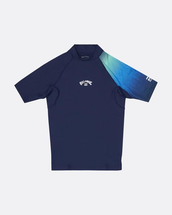 0 Contrast Printed - kurzärmeliges Lycra mit UPF 50 für Jungen Blau S4KY08BIP0 Billabong
