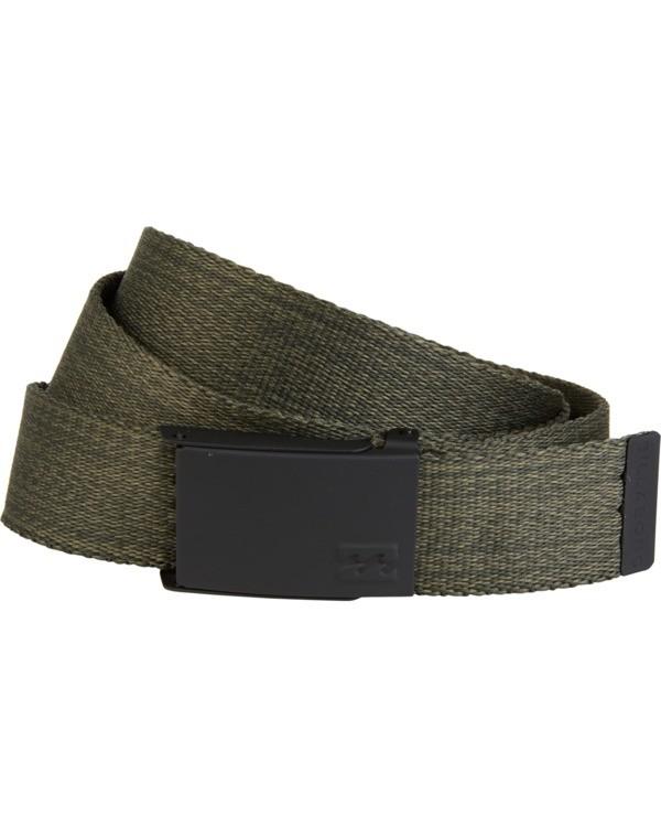 0 Cog - Webbed Belt for Men Green S5BL01BIP0 Billabong
