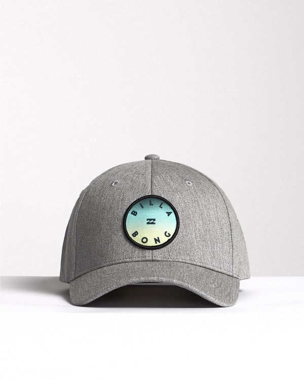 0 Theme - Snapback Cap for Men Grey S5CM01BIP0 Billabong