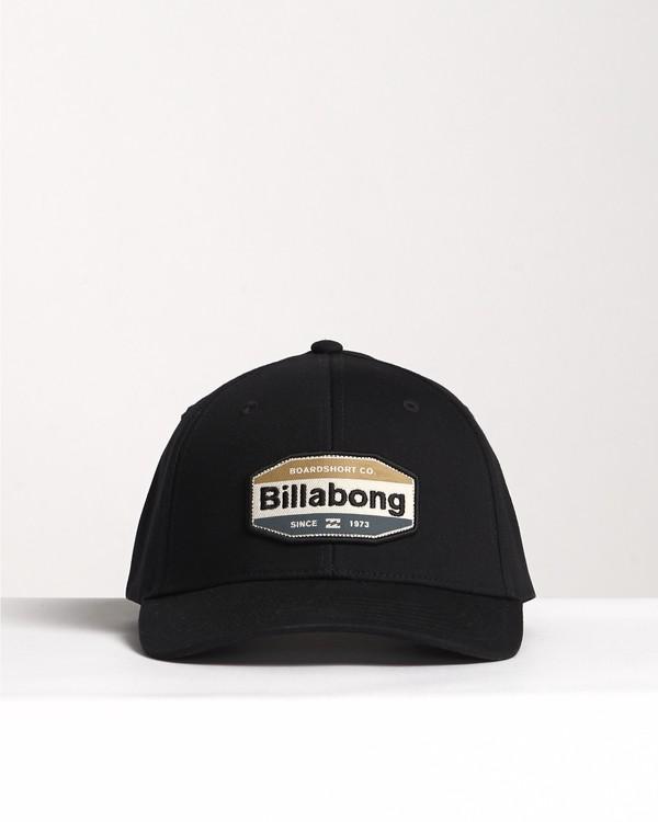 0 Walled - Snapback Hat for Men Grey S5CM03BIP0 Billabong