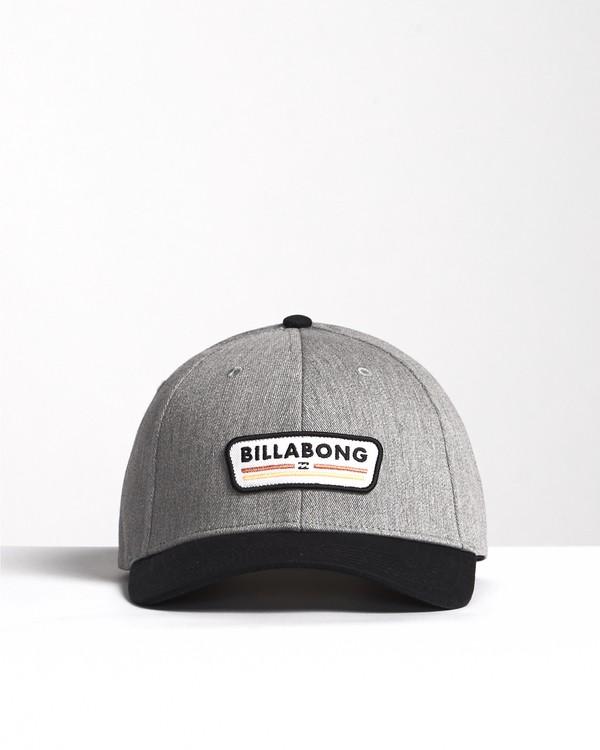 0 Walled - Snapback Hat for Men Black S5CM03BIP0 Billabong