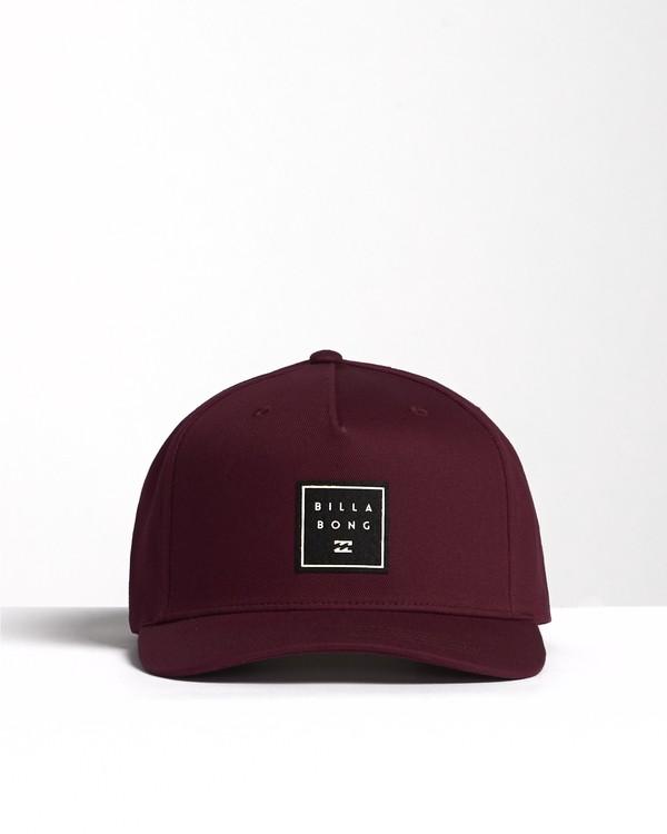 0 Stacked - Snapback Hat for Men  S5CM04BIP0 Billabong