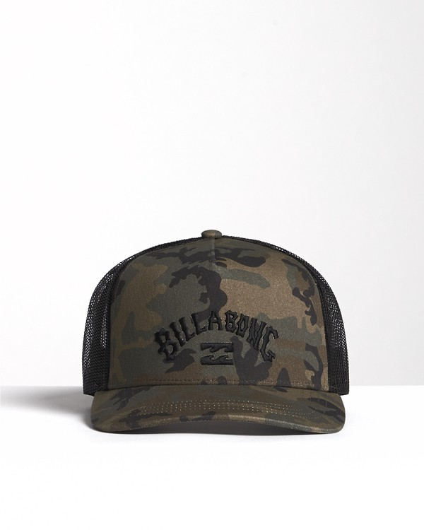 0 Flatwall - Trucker Hat for Men Camo S5CT04BIP0 Billabong