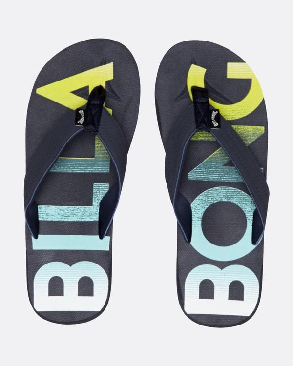0 All Day Theme - Flip-Flops for Men Blue S5FF08BIP0 Billabong