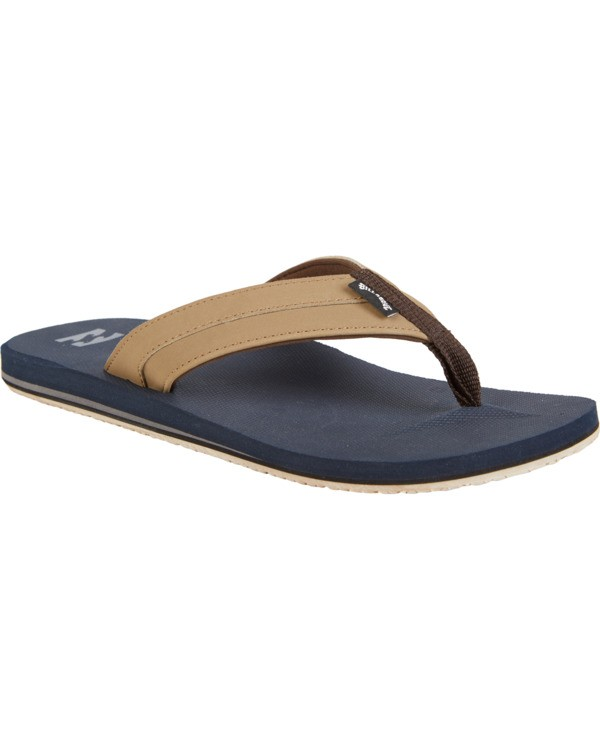 0 All Day Impact - Sandals for Men Blue S5FF10BIP0 Billabong
