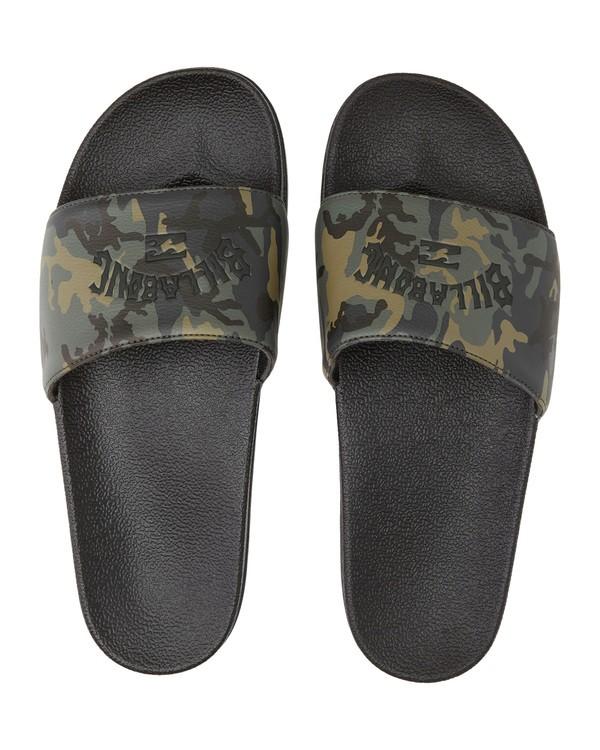 0 Poolslide Corp - Sandalen aus Kunstleder für Herren Gemustert S5FF22BIP0 Billabong