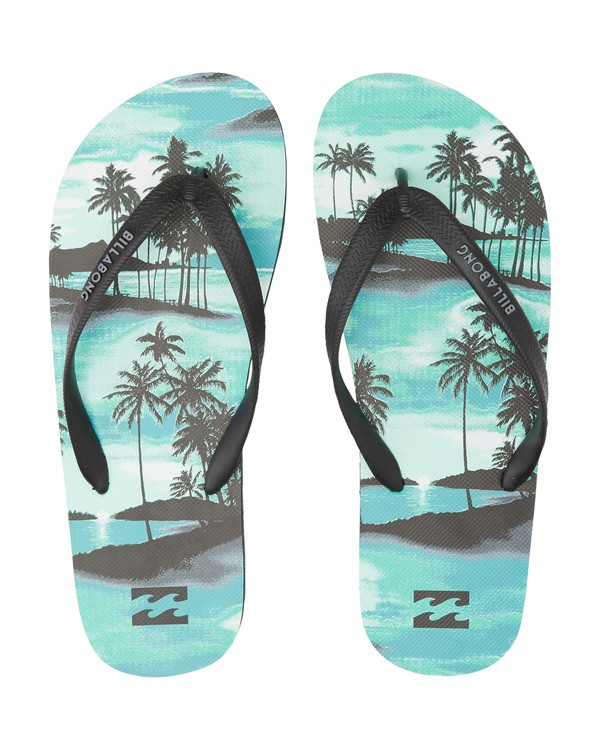 0 Tides Sundays - Rubber Sandals for Men Blue S5FF25BIP0 Billabong