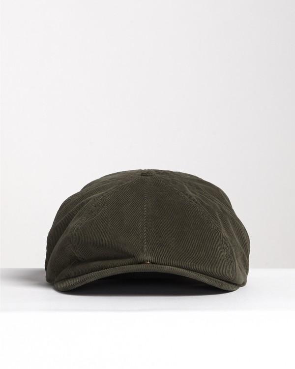 0 Cabby - Chauffeurs-Cap aus Cord für Herren Grün S5HT04BIP0 Billabong