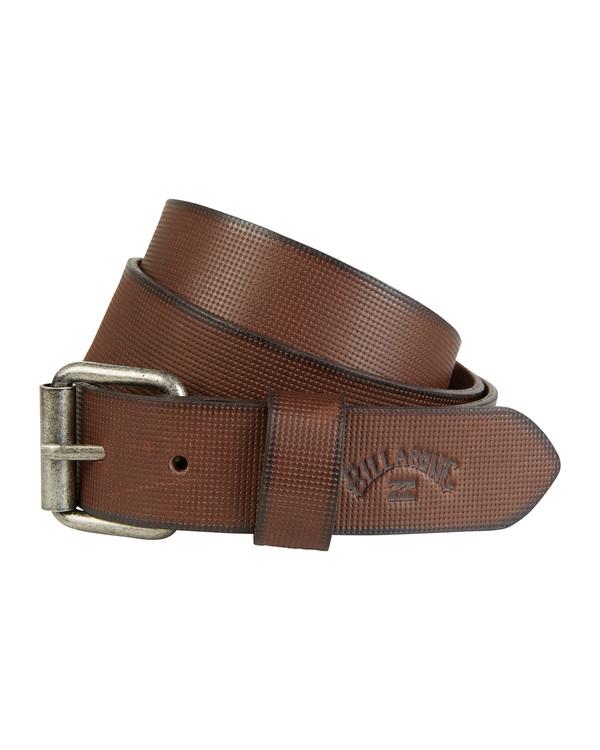 0 Daily Leather - Ledergürtel für Herren Braun S5LB01BIP0 Billabong