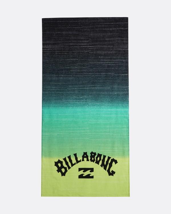 0 Waves - Serviette de plage imprimée pour Homme Jaune S5TO01BIP0 Billabong
