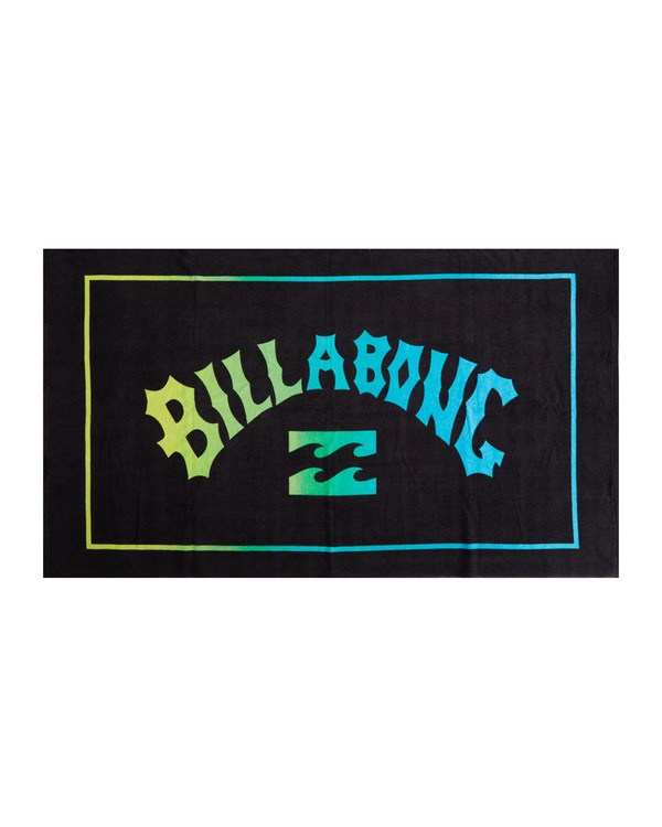 0 Arch Wave - Printed Beach Towel for Men Black S5TO06BIP0 Billabong