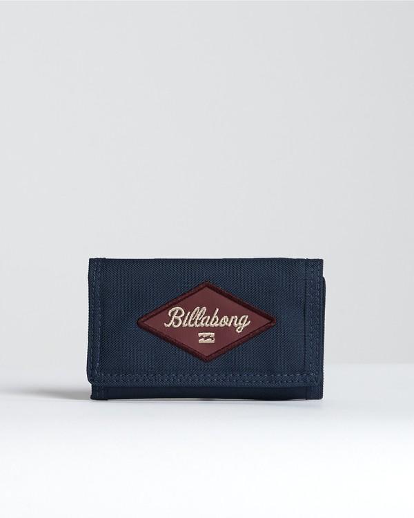 0 Walled 600D - Brieftasche für Herren Blau S5WL03BIP0 Billabong