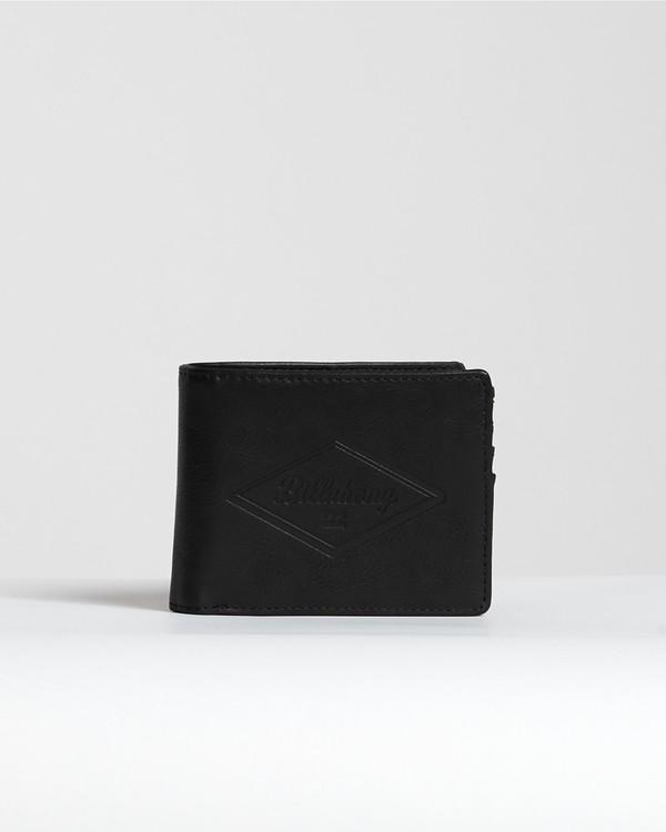 0 Walled Pu - Brieftasche für Herren Schwarz S5WM08BIP0 Billabong