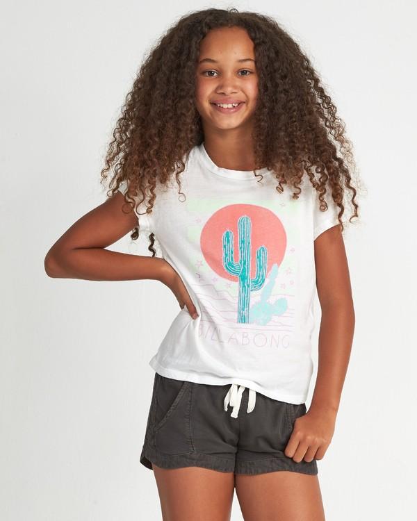 0 Desert Sky - Grafik-T-Shirt für Mädchen Weiss S8SS03BIP0 Billabong