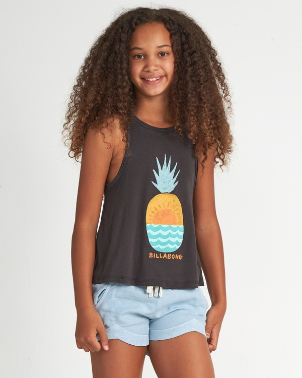 0 Open Sea - T-Shirt for Teen Girls Black S8TT02BIP0 Billabong