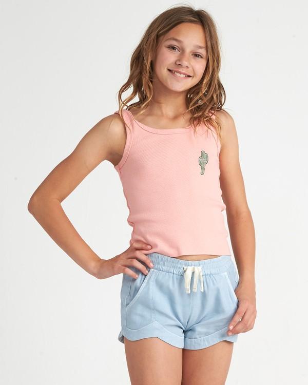 0 Saguaro Cactus - Top für Mädchen Rosa S8TT05BIP0 Billabong