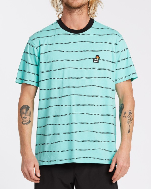 0 Truffula Trunk - Camiseta para Hombre Verde T1JE13BIS0 Billabong