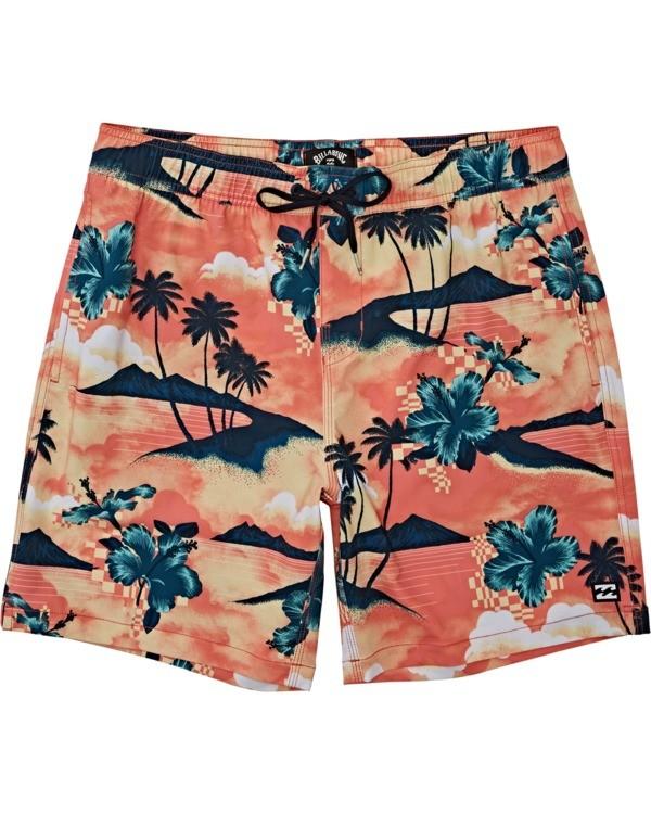 0 Sundays Layback - Short de natación para Hombre Multicolor T1LB03BIS0 Billabong