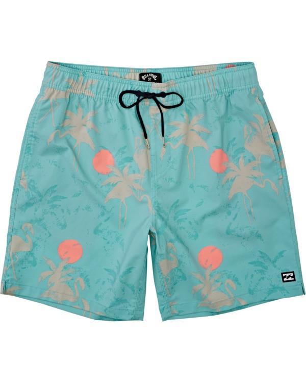 0 Sundays Layback - Short de natación para Hombre Verde T1LB03BIS0 Billabong