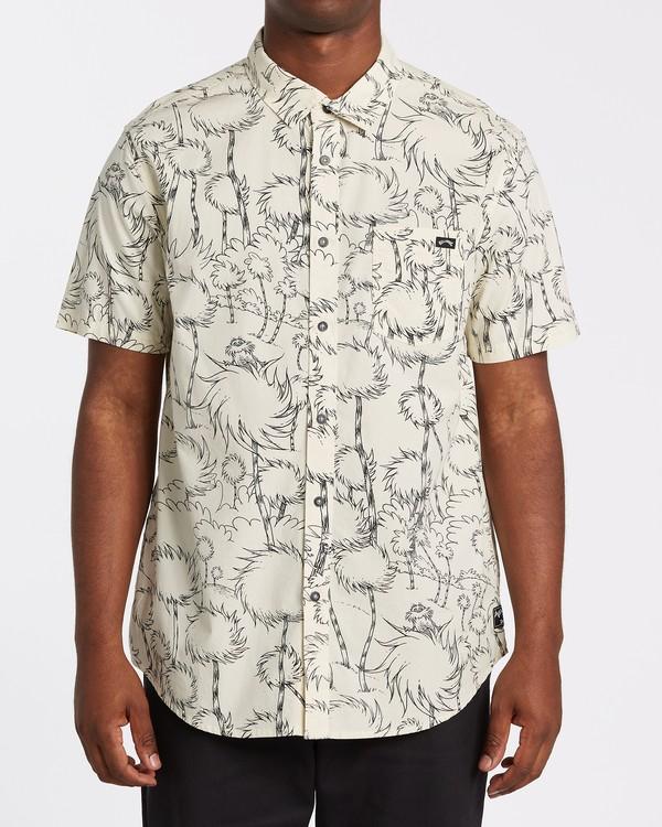 0 Truffula - T-Shirt mit kurzen Ärmeln für Männer Grau T1SH05BIS0 Billabong
