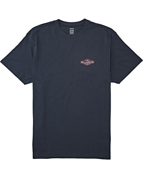 0 Autoshop - T-Shirt für Männer Blau T1SS12BIS0 Billabong