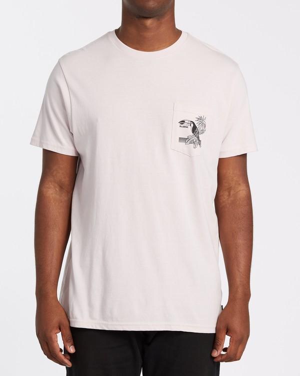 0 Dominical - T-Shirt für Männer Violett T1SS13BIS0 Billabong