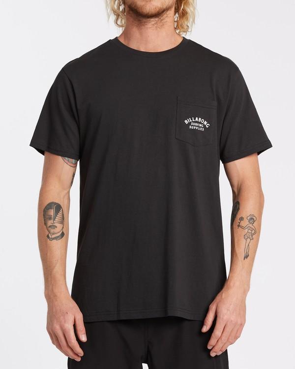 0 Surfing Goods - T-Shirt für Männer Schwarz T1SS19BIS0 Billabong