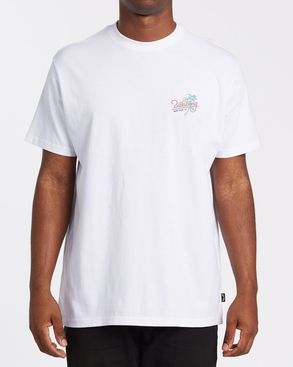 0 Surf Tour - T-Shirt für Männer Weiss T1SS20BIS0 Billabong