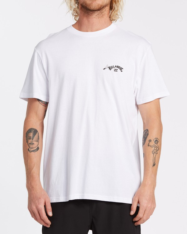 0 Truffula Photo - Camiseta para Hombre Blanco T1SS34BIS0 Billabong