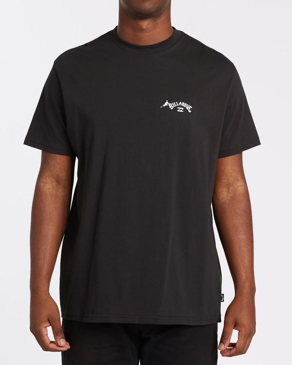 0 Truffula - Camiseta para Hombre Negro T1SS35BIS0 Billabong