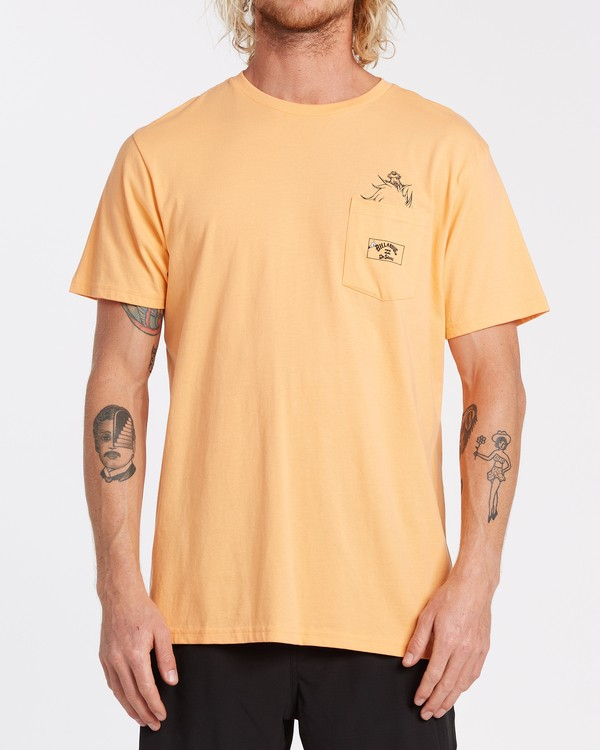 0 Lorax - T-shirt pour Homme Orange T1SS36BIS0 Billabong